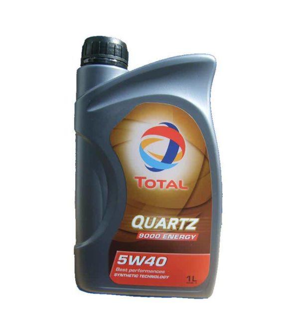 TOTAL Quartz 9000 Energy 5W40 - Motorolie - 1 Liter