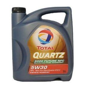 TOTAL Quartz 9000 NFC 5W30 (voorheen Future) - Motorolie - 5 Liter