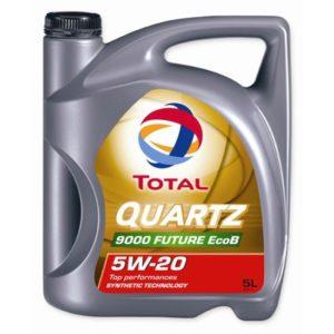 Total Quartz 9000 Future Ecob 5W20 - Motorolie - 5 Liter