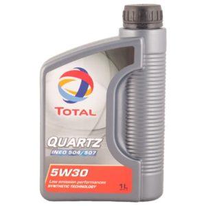 Total Quartz Ineo 504/507 5W30 - Motorolie - 1 Liter