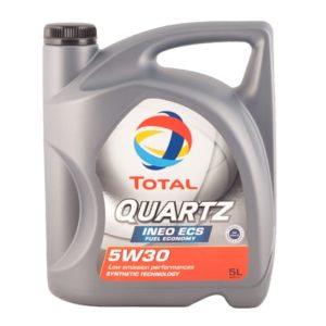 Total Quartz Ineo ECS 5W30 - Motorolie - 5 Liter