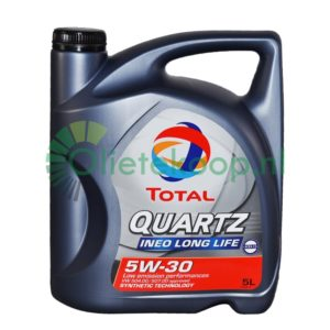 Total Quartz Ineo Longlife 5W30 - Motorolie - 5 Liter