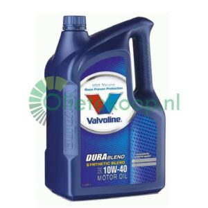 Valvoline Durablend 10W40 - Motorolie - 5 liter