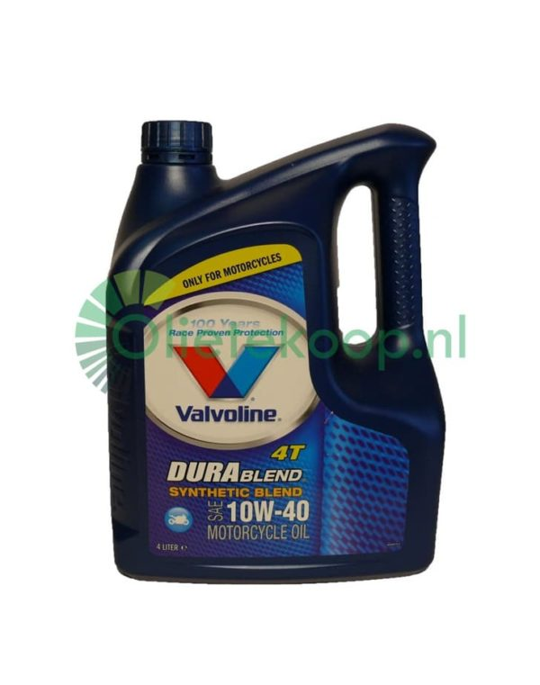 Valvoline Durablend 4T 10W40 - Motorolie- 4 Liter