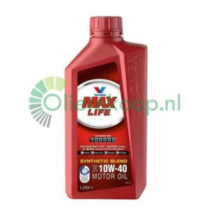 Valvoline Maxlife 10W40 - Motorolie - 1 Liter