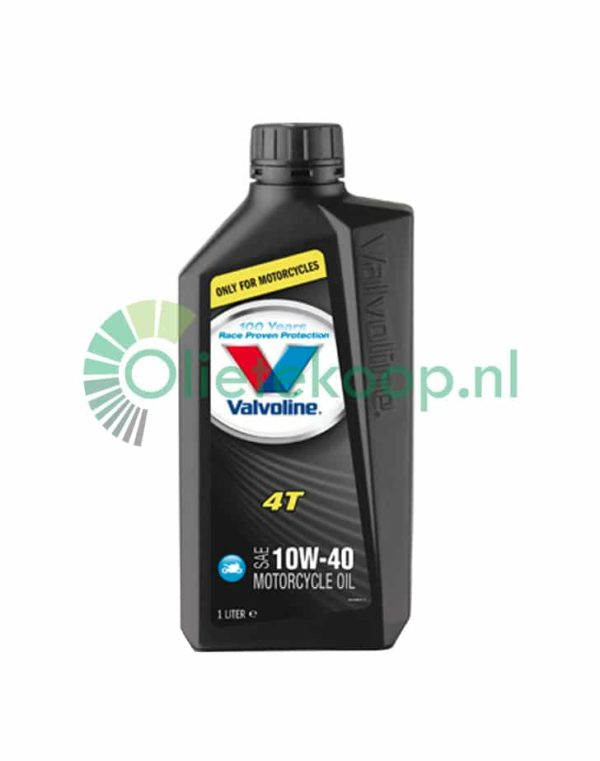Valvoline MotorCycle Oil 4T 10W40 - Motorolie - 1 Liter