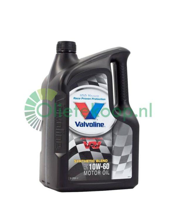 Valvoline VR1 Racing 10W60 - Motorolie - 5 Liter