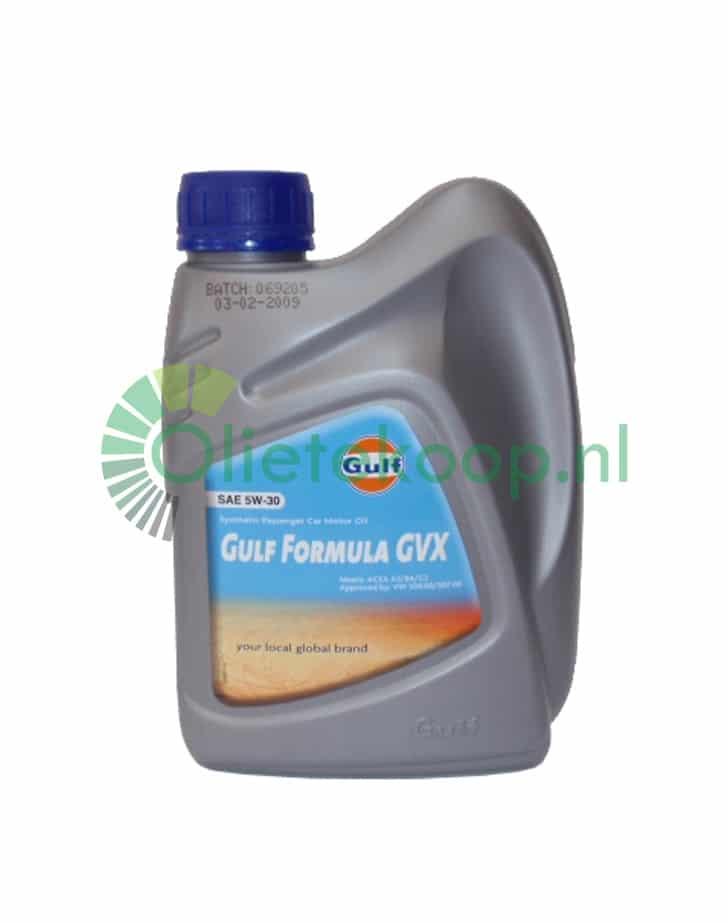 1 liter gulf formula gvx 5w30 longlife. Black Bedroom Furniture Sets. Home Design Ideas