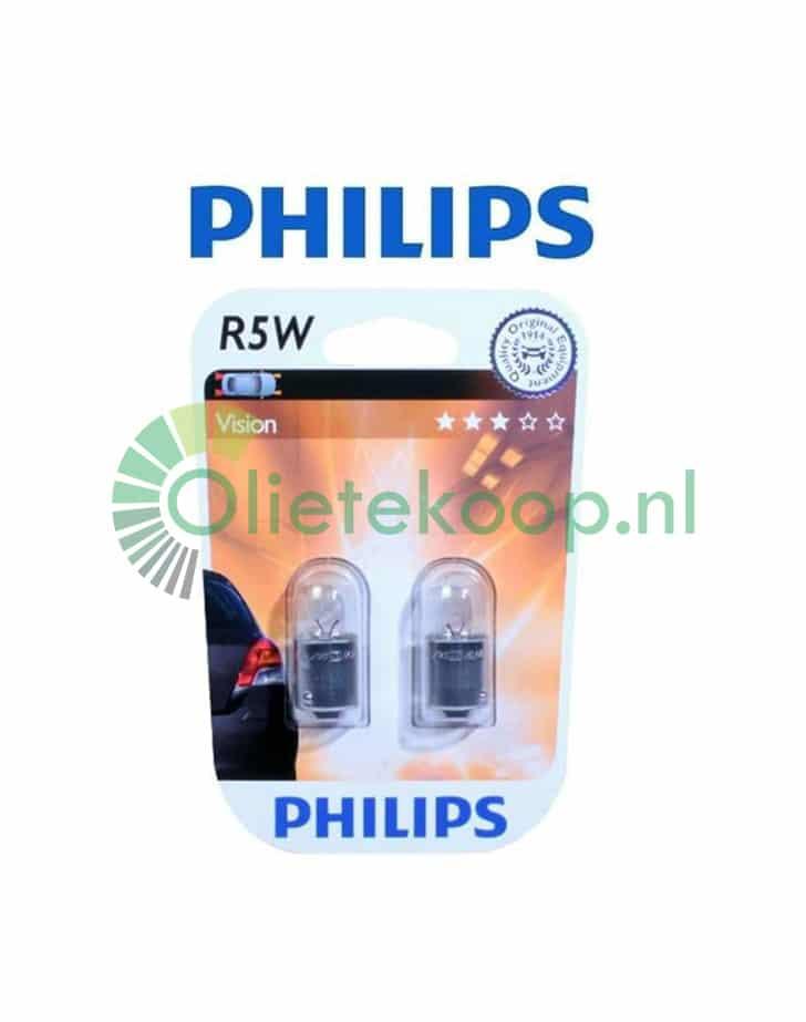 Philips 12821B2 R5W Premium 12V