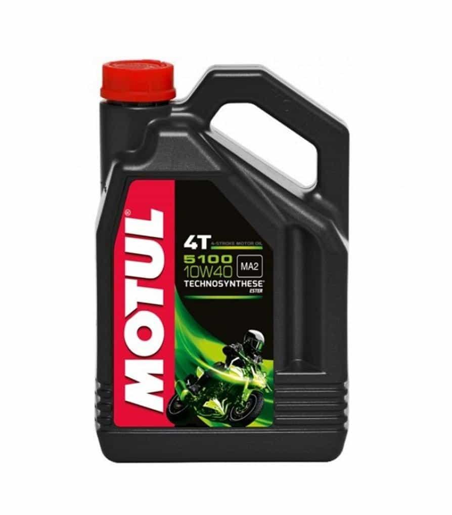 Af modish motorolie 4 liter Motul 5100 4T 10W40 | Olietekoop.nl UR56