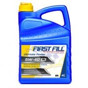 4 liter First Fill Ultimate Power 5W40 (Fully Synthetic)