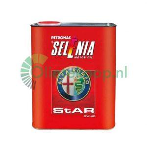 Selenia Star Motorolie - 5W40 - 2 liter