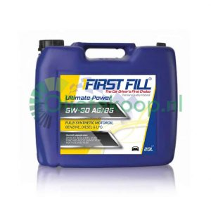 20 liter First Fill Ultimate Power 5W30 A5/B5 (Synthetic LL A1/B1)