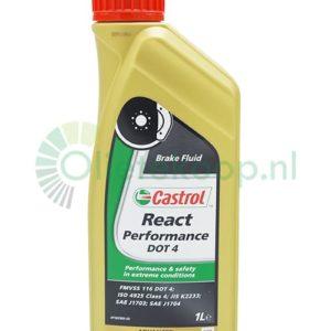 Castrol React Performance Remvloeistof - DOT 4 - 1 Liter
