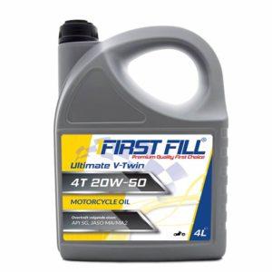 First Fill Ultimate VTwin 4T Motorolie - 20W50 - 4 Liter