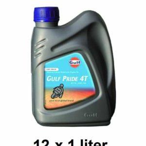 Gulf Pride 4T Motorolie - 20W50 - 12 x 1 Liter