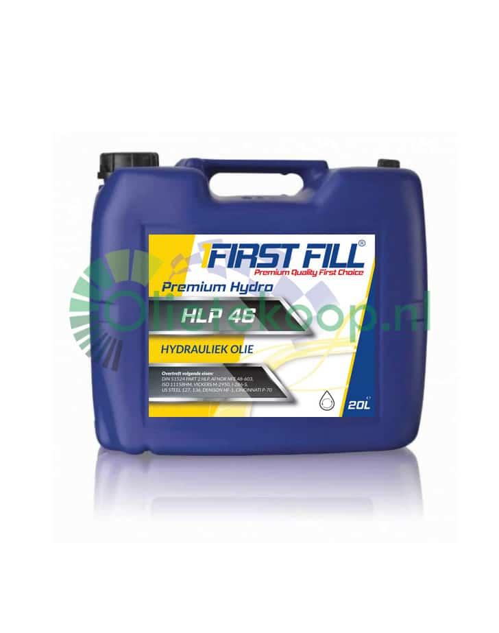 First Fill Premium Hydro HLP 46 hydrauliekolie - ISO 46 - 20 liter