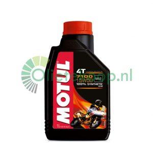 motorolie 4 liter Motul 7100 4T 15W50