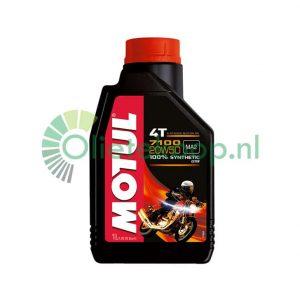 4 liter Motul 7100 4T 20W50