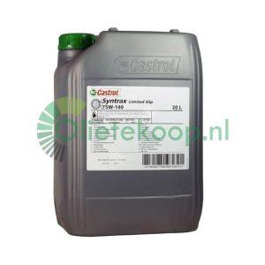 Transmissieolie 20 liter Castrol Syntrax Limited Slip (SAF XJ) 75W140