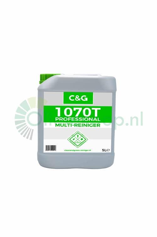 C&G 1070T Multireiniger & Ontvetter - 5 Liter