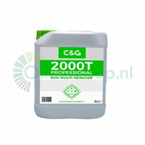 C&G 2000T Professional Eco Multireiniger & Ammoniakvervanger - 5 Liter