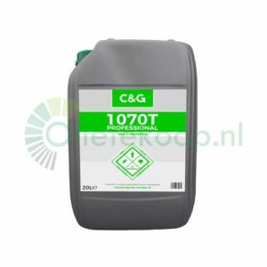 Clean and Green C&G 1070T – Multireiniger & Ontvetter - 20 Liter