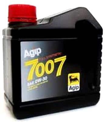 AGIP 7007 motorolie (VW 503.00/506.00 - Longlife II) - 0W30 - 1 liter