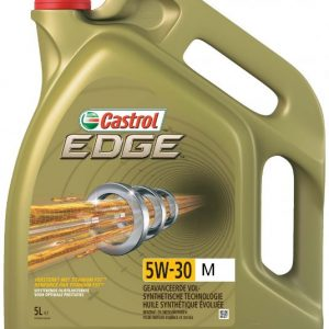 Castrol Edge - 5W-30 M (m.o.a. MB 229.52 en BMW LL-04) - 5 liter