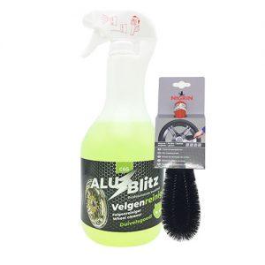 C&G Alu Blitz Velgenreiniger - 1 Liter + Gratis Velgenborstel