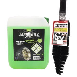 C&G Alu Blitz Velgenreiniger - 5 liter + Gratis Velgenborstel
