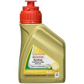 Castrol Syntrax Limited Slip Transmissieolie (SAF XJ) 75W140 - 500ml