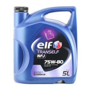 ELF Tranself Versnellingsbakolie - NFJ 75W-80 - 5 Liter