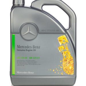 Mercedes Genuine Motorolie (MB 229.51) 5W-30 - 5 Liter