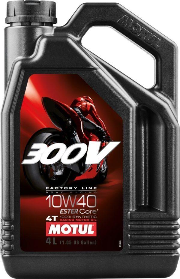 Motul 300V 4T Factory Line Road Racing 10W-40 - 4 Liter