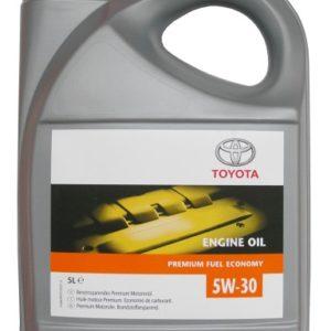 Toyota Genuine Motorolie (TGMO) 5W-30 - 5 Liter