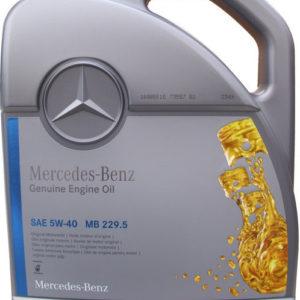 Mercedes Genuine Motorolie (MB 229.5) 5W-40 - 5 Liter