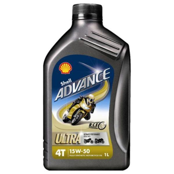 Shell Advance Ultra 4 motorolie 15W50 - 1 Liter
